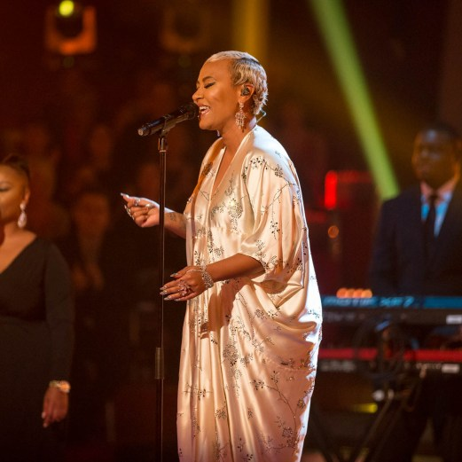 Programme Name: Strictly Come Dancing 2016 - TX: 17/12/2016 - Episode: n/a (No. n/a) - Picture Shows: **LIVE SHOW** Emeli Sandé - (C) BBC - Photographer: Guy Levy