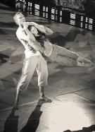 "Natalia Osipova and Roman Kostomarov, ""TV Show ""Bolero"" / © Nikolay Krusser"
