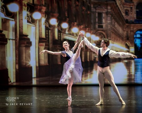 Anna Tsygankova and Matthew Golding, «Delibes Suite» - © Jack Devant