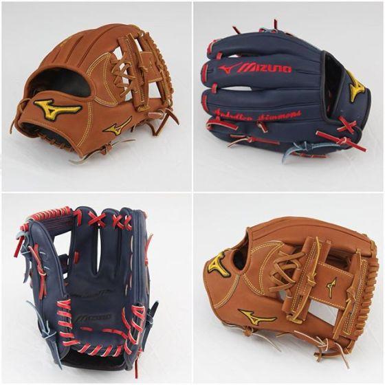 Andrelton Simmons' Mizuno Pro Limited Gloves