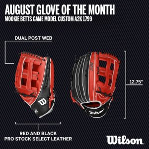 Wilson Glove of the Month August