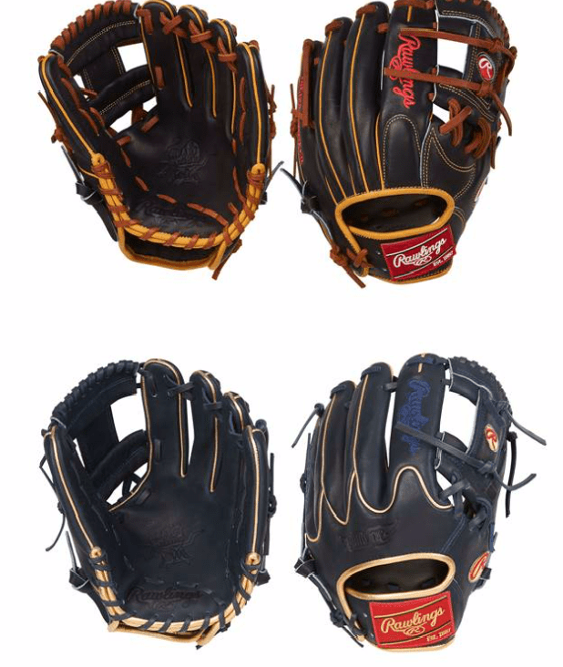 Rawlings Gold Glove Club July Models