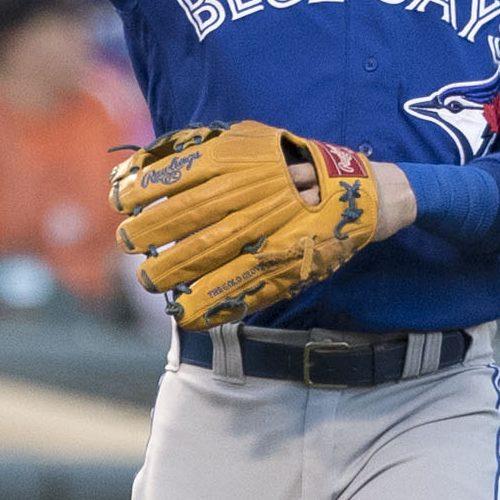 Josh Donaldson's Glove: Rich Tan Rawlings Pro Preferred/Heart of the Hide PRONP5