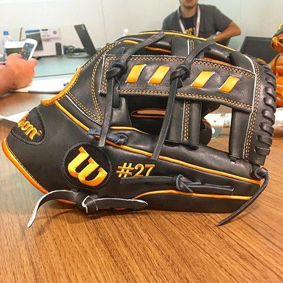 Jose Altuve's Glove