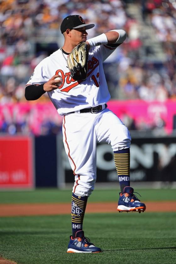 Manny Machados' Gloves
