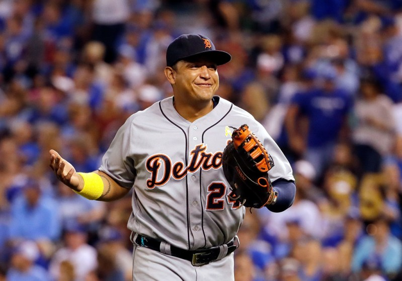 Miguel Cabrera's Glove: Wilson A2000 MC24