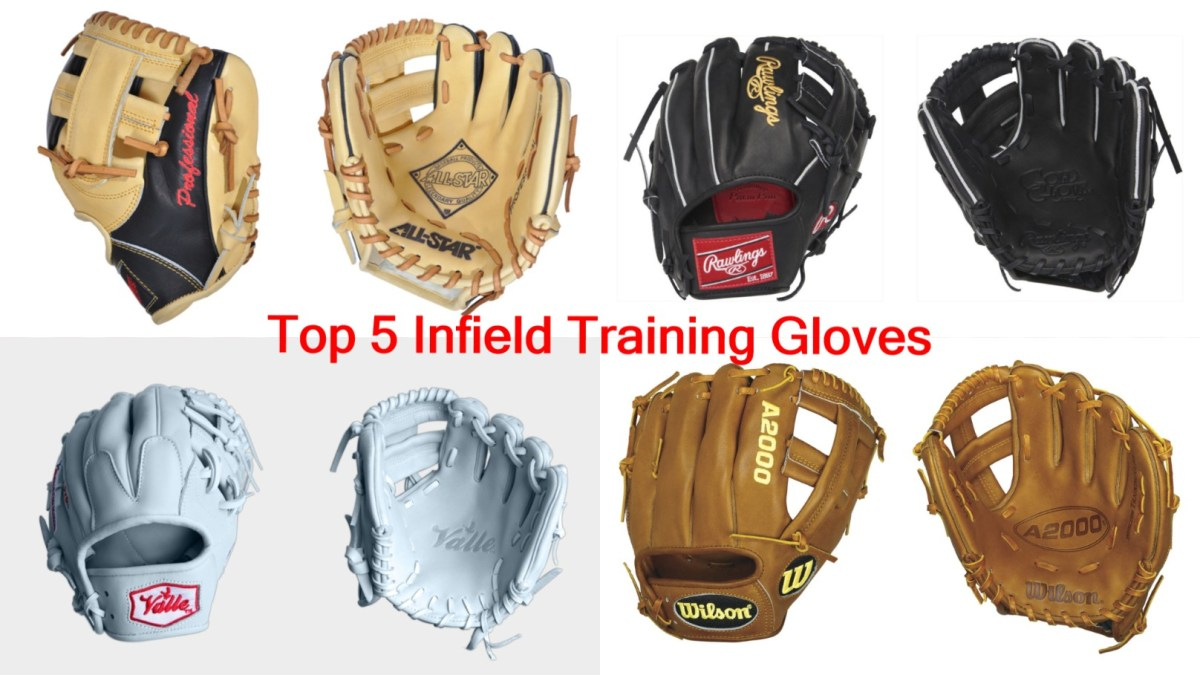 Top 5 Infield Training Gloves