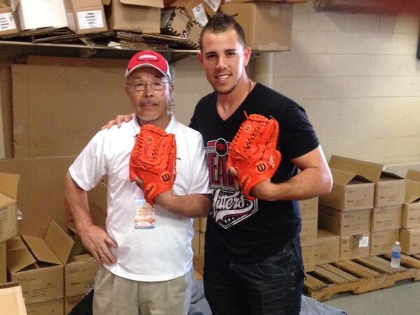 Jose Fernandez' Gloves