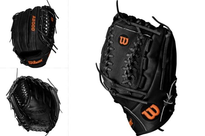 Jose Fernandez' Gloves Black
