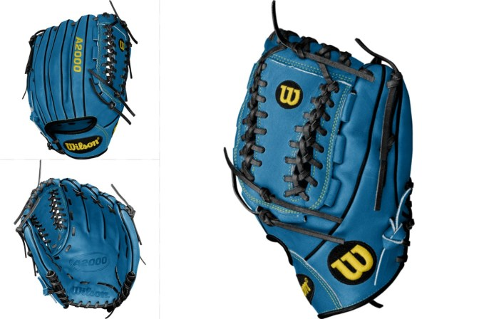 Jose Fernandez' Gloves Tropical Blue