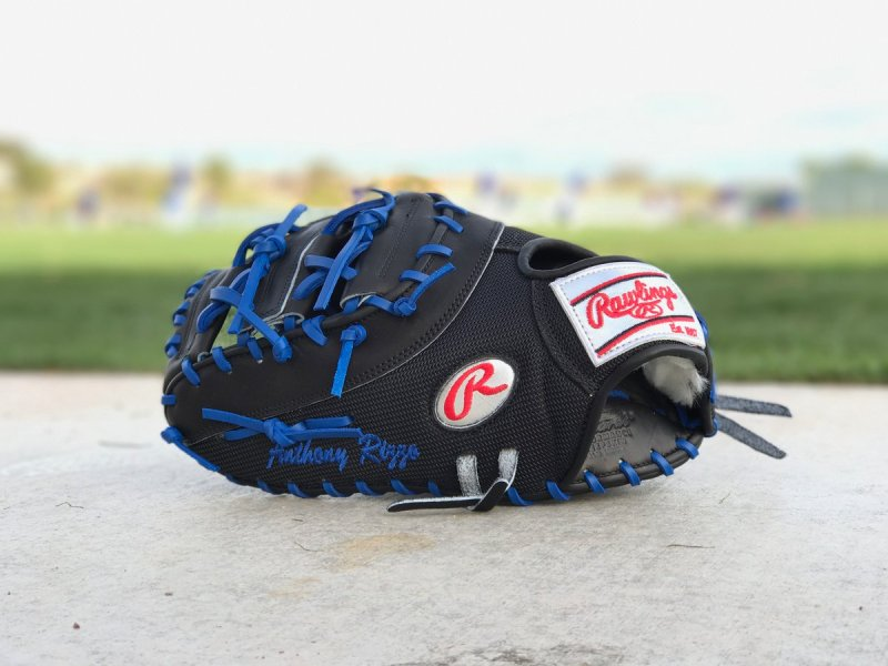 Anthony Rizzo's Glove: Rawlings Pro Preferred PROSCMHCBBRM with Platinum Labels