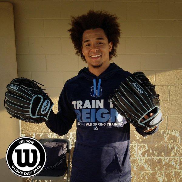Chris Archer's Glove