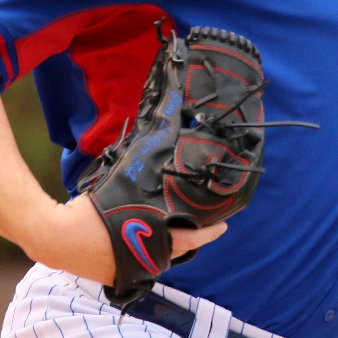 Jon Lester's Glove: Custom Nike Sha-Do Elite