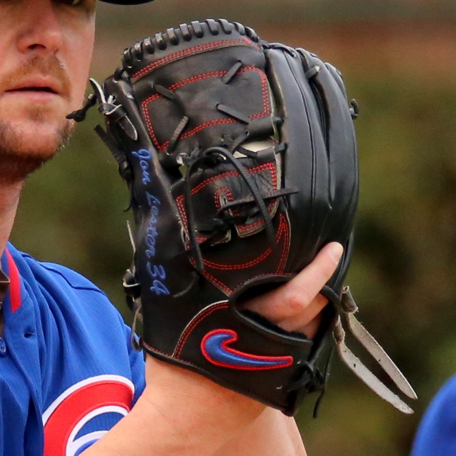 Jon Lester's Glove: Custom Nike Sha-Do Elite