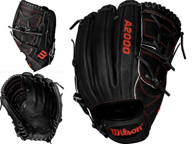 Rick Porcello's Glove