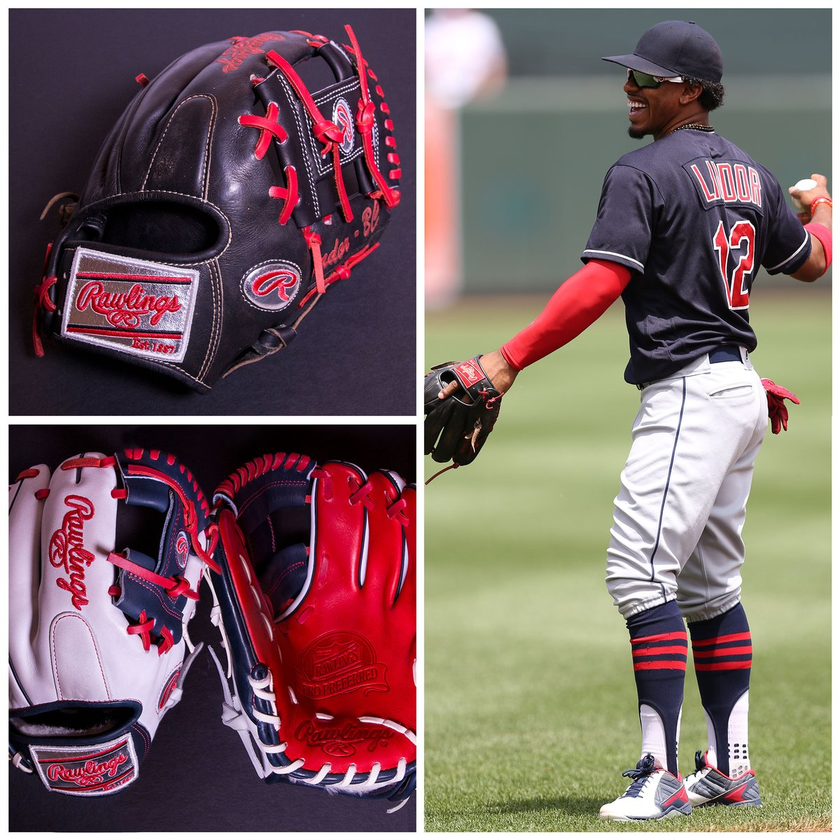 Francisco Lindor's Gloves
