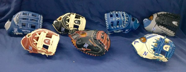 Nevada Easton baseball gloves