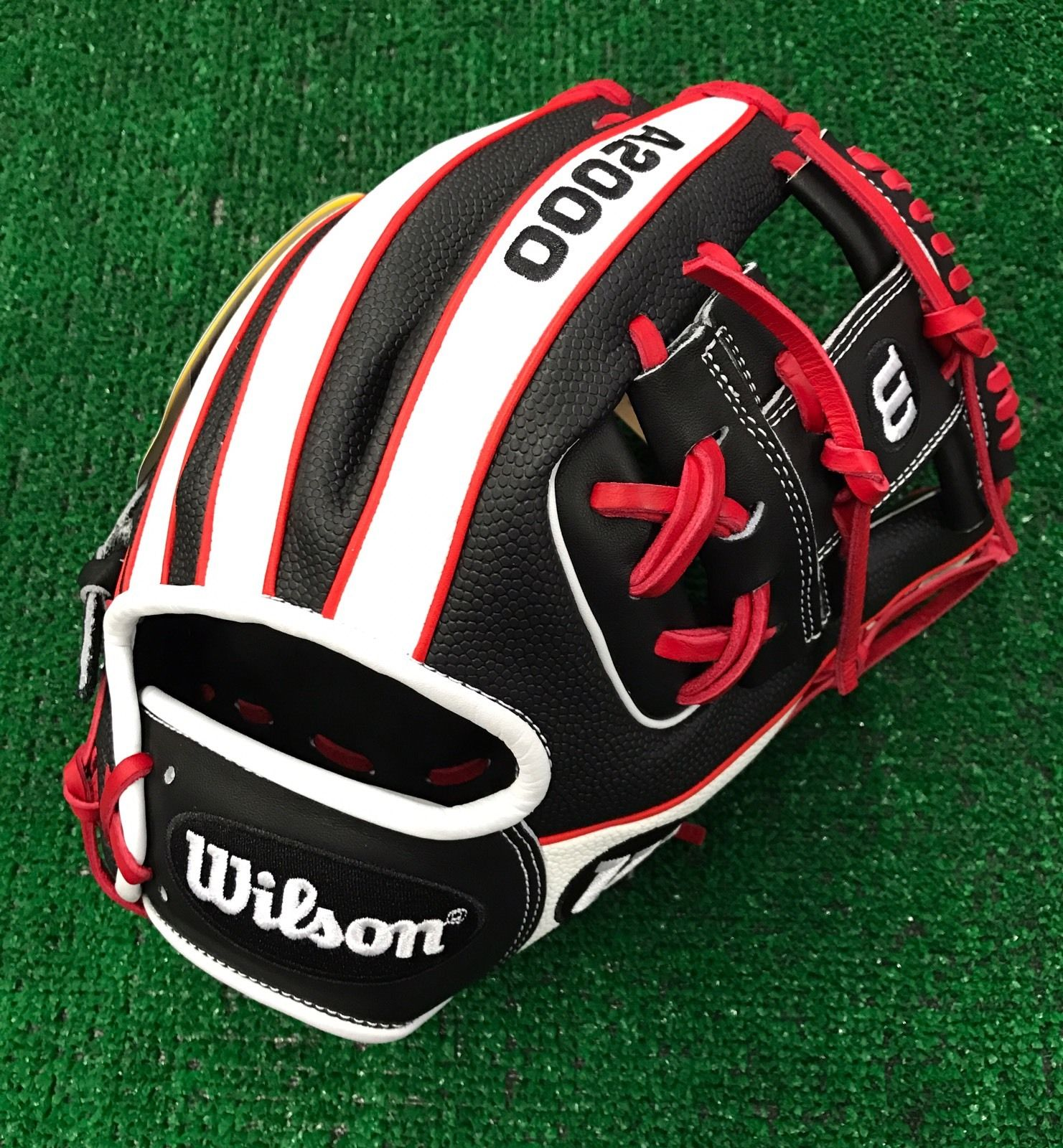 Wilson glove of the month february two colors