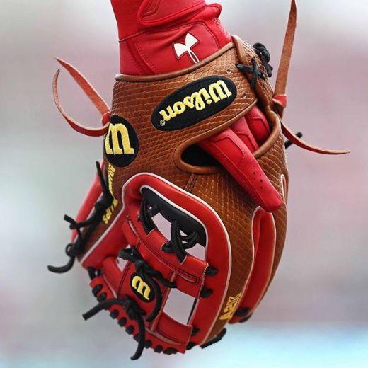 Brandon Phillips' Glove: Wilson A2K DATDUDE