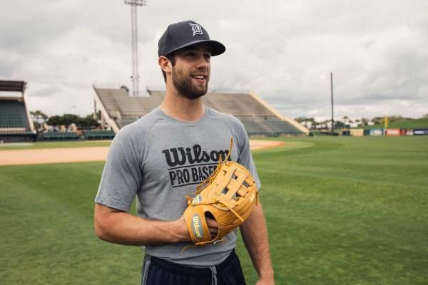 Daniel Norris' Glove: Custom Wilson A2K DW5