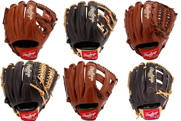 Rawlings Pro Preferred Mocha/Bruciatto Gloves