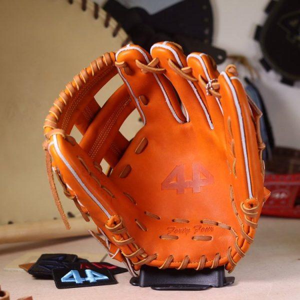 "44 Pro Gloves Signature Series Stock Glove (Orange Tan, 11.5"", Single Post)"