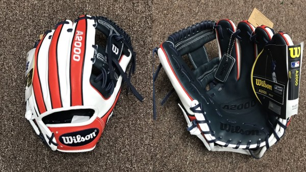 Wilson Glove of the Month July 2017: US-themed Wilson A2000 1786