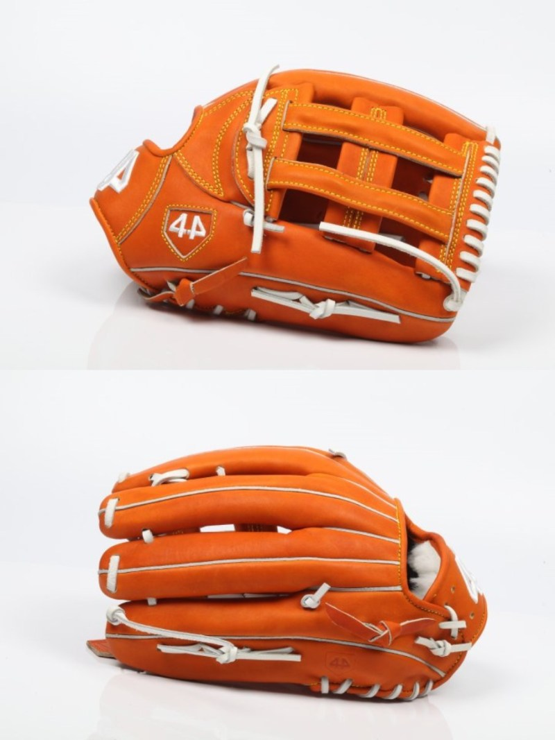 "New: 44 Pro Gloves Signature Stock Series 12.75"" Orange-Tan"