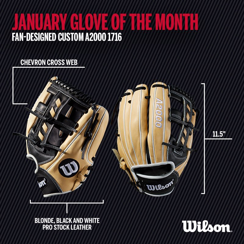 Wilson Glove of the Month January 2018
