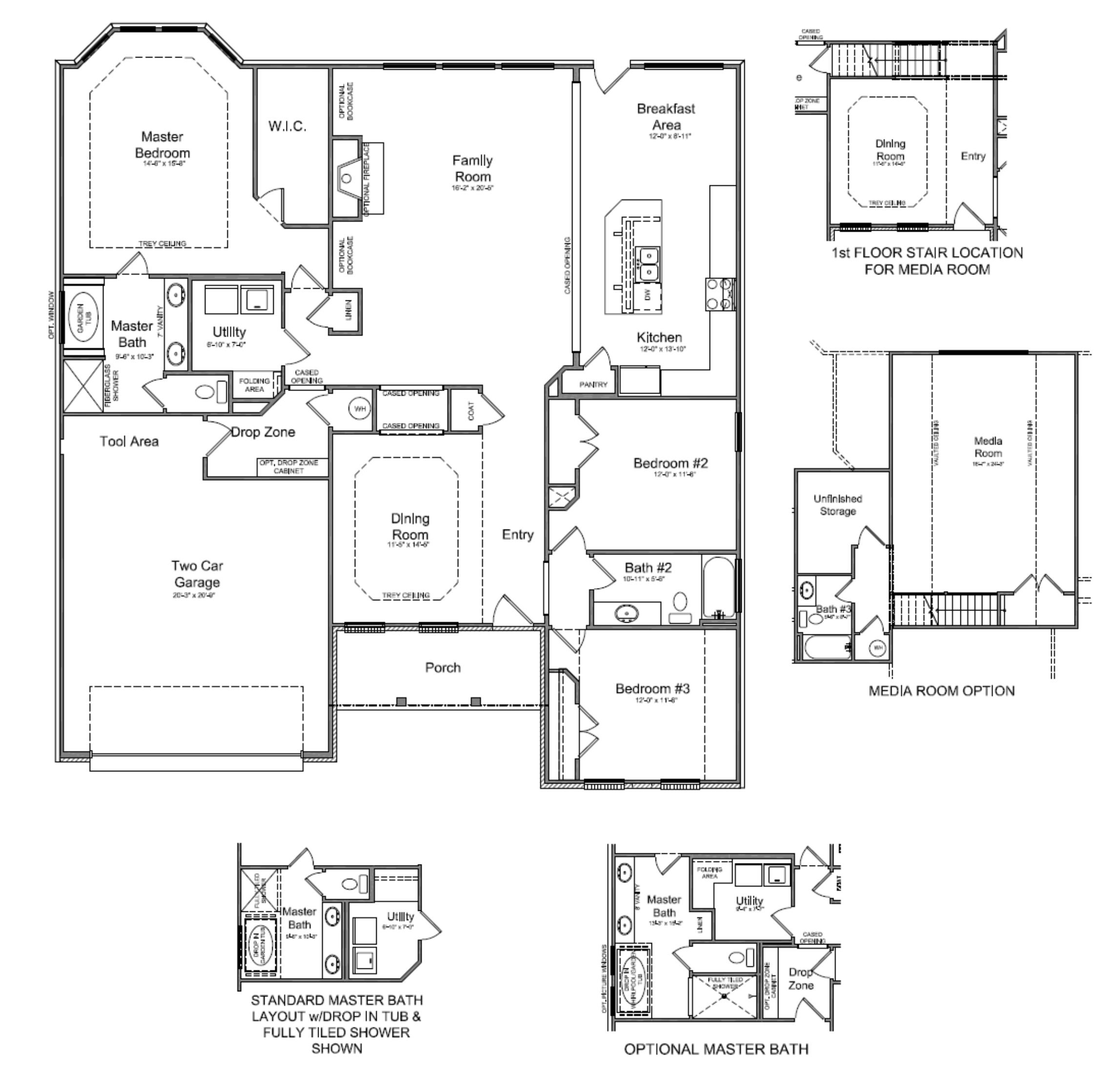 House Plans First Floor Master: With 2 Story House Plans First Floor Master