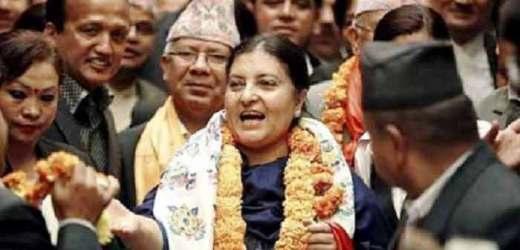 बेटियों के उत्थान के लिए नेपाल की  राष्ट्रपति ने बढ़ाए कदम