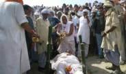 पचरुखिया घाट पर सियासी सूरमा के अंतिम झलक के लिए दिग्गजों का जमावड़ा