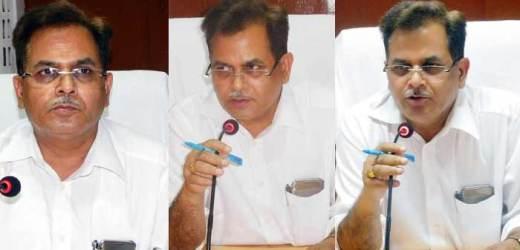 सुरेंद्र विक्रम अब विशेष सचिव, सिंचाई एवं जल संसाधन, भवानी सिंह खगारौत बलिया के नए डीएम