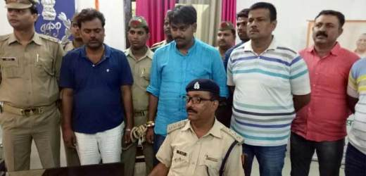 शिवरामपुर ढाले के पास कार्बाइन व राइफल समेत दो युवक पुलिस के हत्थे चढ़े