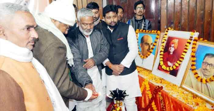 मोदी के नेतृत्व में स्वामी विवेकानंद के सपनों को पूरा करेगी भाजपा : स्वतंत्रदेव