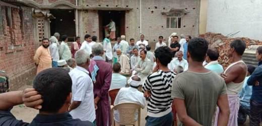 ताजिया दफन कर लौटते समय करेंट की चपेट में आए तीन युवकों की मौत