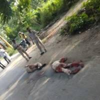 यूपीः संभल में 2 पुलिसकर्मियों की हत्या कर 3 कैदी छुड़ा ले गए बदमाश