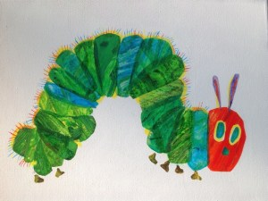 After Eric Carle by Helen Lock