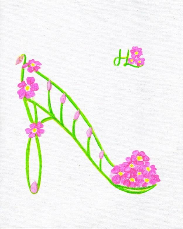 Parakeelya Flower Shoe