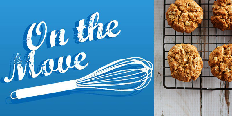 On the Move Recipe Series - Anzac Biscuits