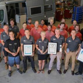 Ballina RV Dealer Scoops Up More Awards | Time to Roam | Dec 2018