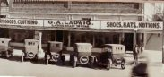 G.A. Ladwig's Dry Good Store in Early 1900's.