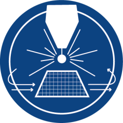 Blauw Materiaalstroom automatisatie Material handling Automisation Balliu