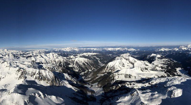 Ballonfahrten in den Alpen