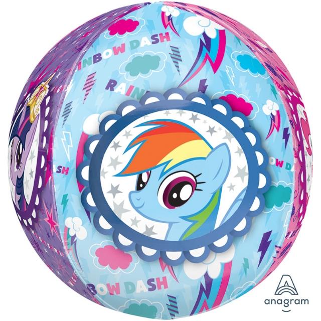 Helium Ballon Mylittlepony bol 40 CM, ballon little pony, heliumballon little pony, my little pony ballon
