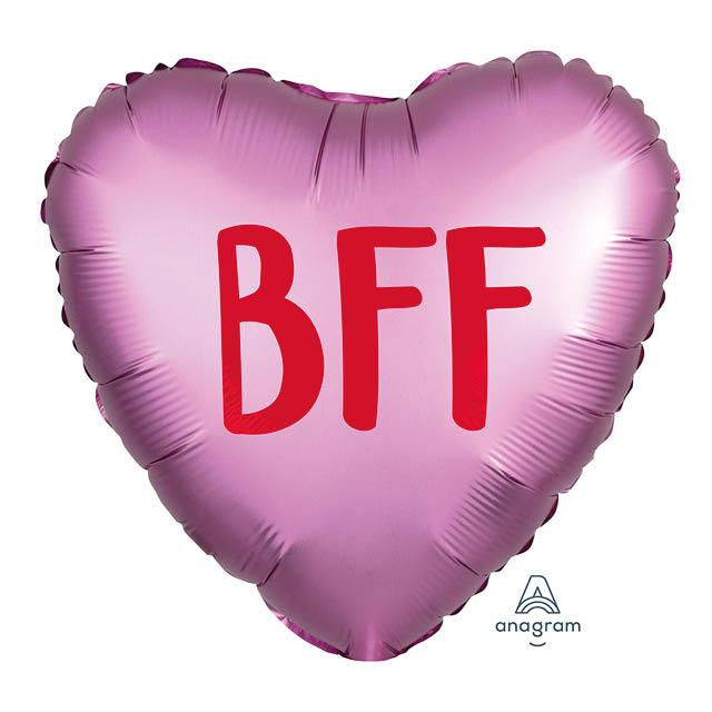 Helium Ballon BFF 45 CM, ove, liefde, liefdesballon, ballon versturen, ballon cadeau, kadoballon, love you ballon, liefdesballon, valentijnsballon, ballon versturen , ballon per post, ballonpost