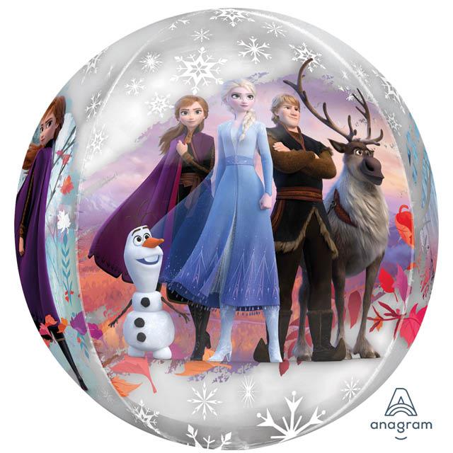 Helium Ballon Frozen Bol 40 CM, frozen ballon, heliumballon frozen, frozen 2 ballon, ballon elsa frozen, folieballon Elsa