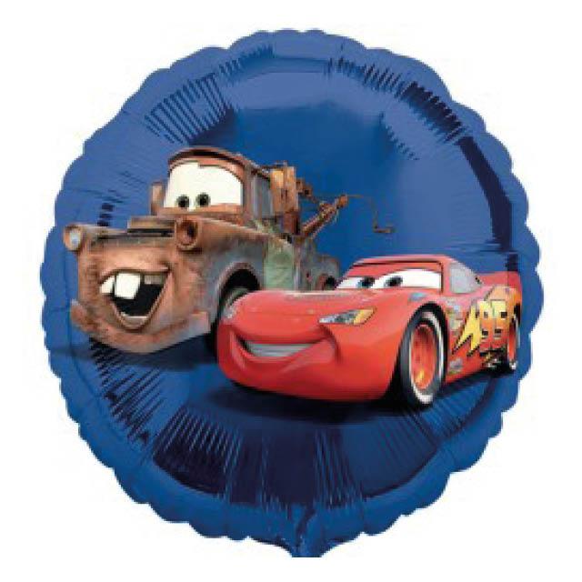 Helium ballon Cars 45 CM, folieballon Cars, ballon cars, cars ballon
