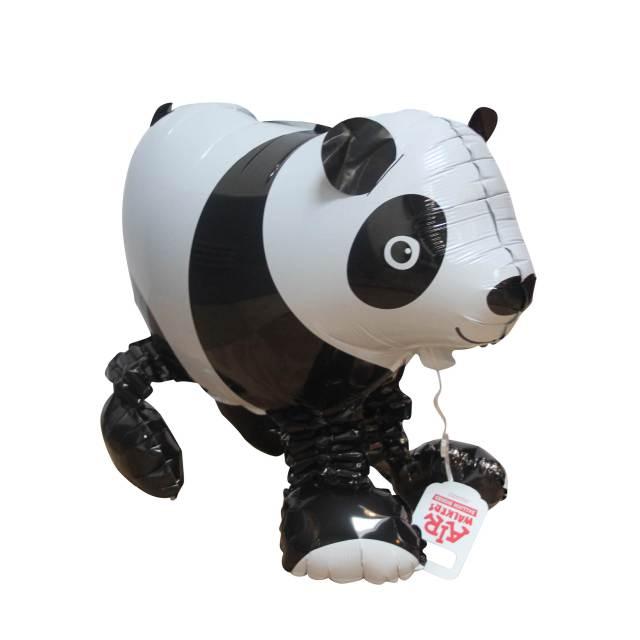 Helium Ballon Lopend Vriendje Panda, ballon versturen, helium ballon, ballon per post, Greetz ballon, dieren ballon
