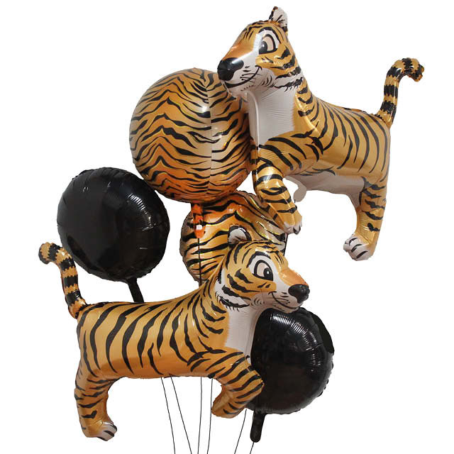 Helium Ballon Boeket Tijger